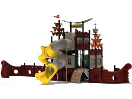 Pirate Ship Playground for Kids 2-12