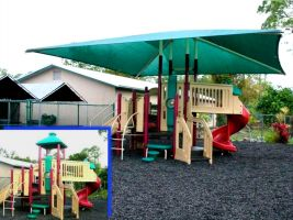 FREE quotes for custom playground sun shades