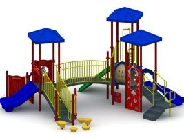 Outdoor Toddler Play Structure