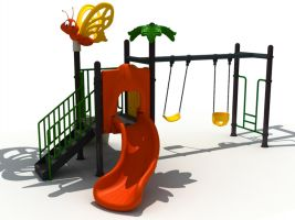 Preschool Precious Playset with Swings