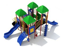 Space Efficient Heavy Duty School Playground
