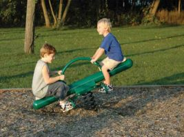 Retro Rocker Spring Toy Seesaw