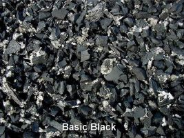 rubber playground mulch basic black