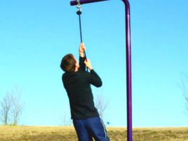 School PE Rope Climbing Station