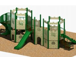 Castle Playground for 5-12 year old kids!