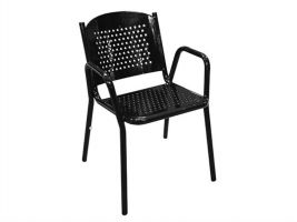 Classic Commercial Seating Perforated Park Chair