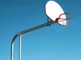 Commercial grade basketball sports backboard