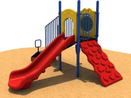Quick Ship Preschool Playground