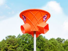 Triple Toss Playground Toys Ball Toss Games