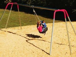 Inexpensive Commercial Tire Swing Set