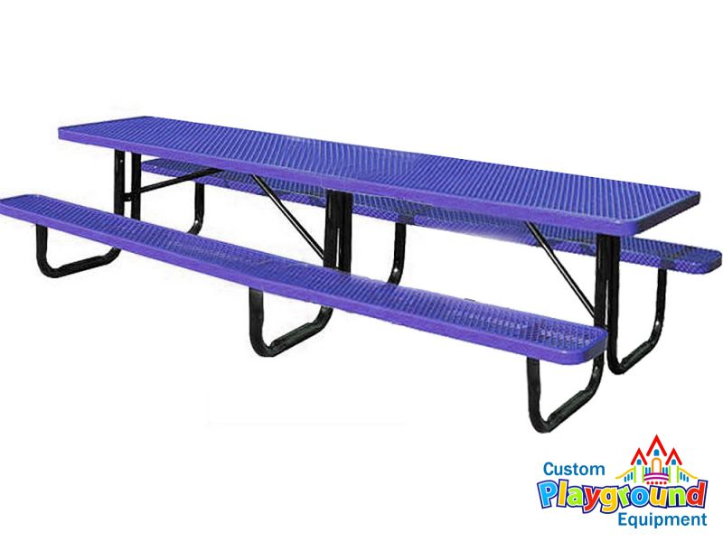 Portable metal picnic table 12ft for 12 foot picnic table