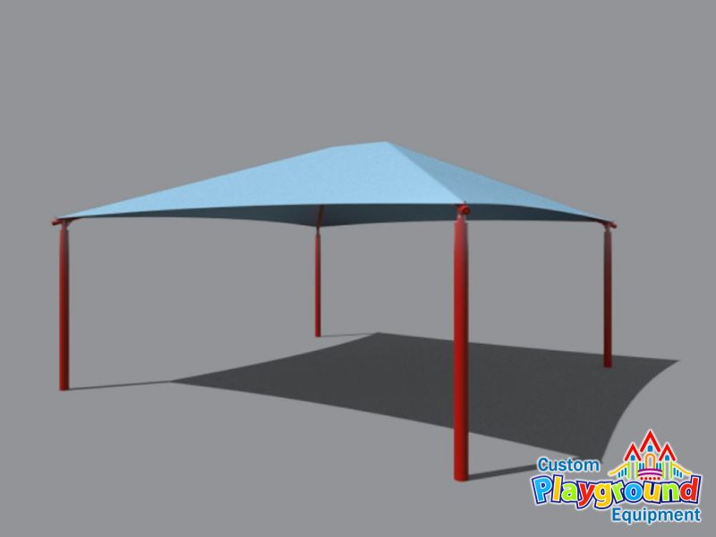 30 x 30 playground shade structure for Metal sun shade structures
