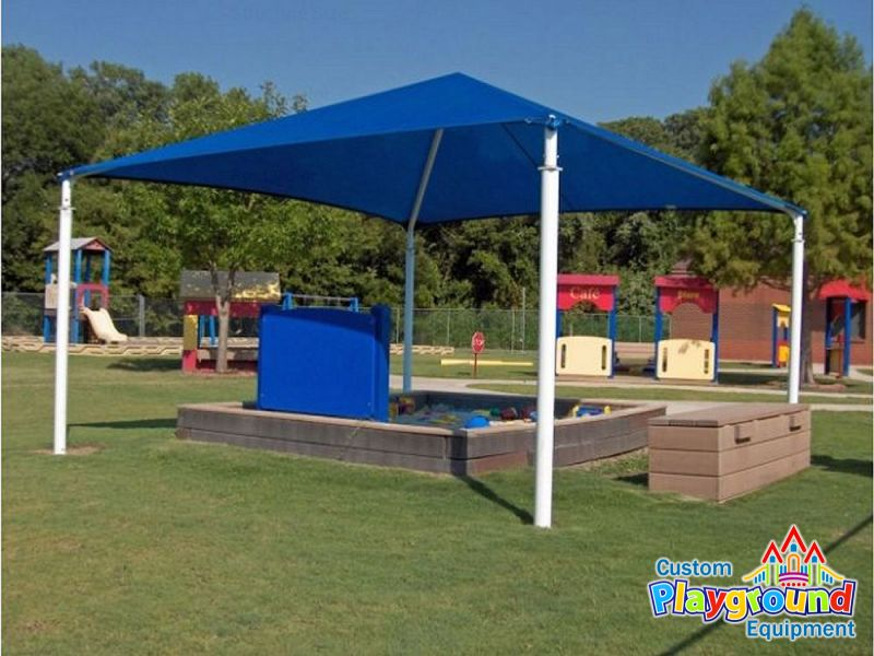 20x20 playground shade canopy ... & 20 x 20 Playground Shade Structure | CustomPlaygroundEquipment.com