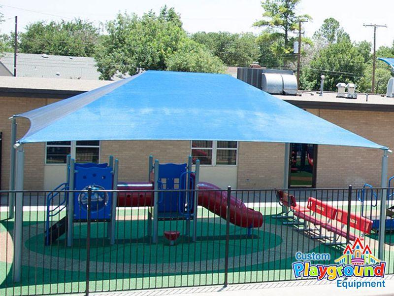 28x38-playground-shade-canopy-structure & Playground Shades | Shade Structures | Playground Shading