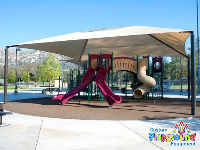 28x38 rectangular hip shade cover · 40x36 shade structure cover · 40x36 playground shade canopy ... & 40 x 36 Playground Shade Structure | CustomPlaygroundEquipment.com