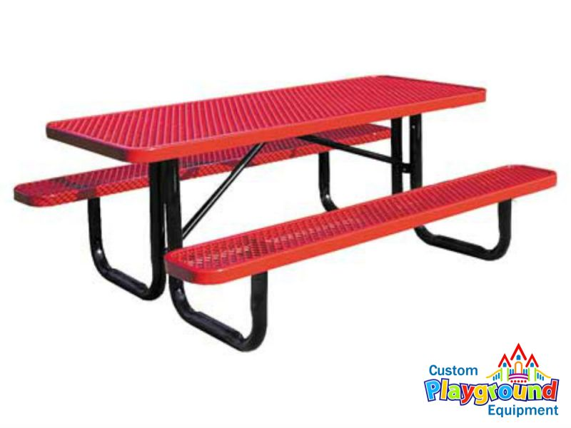 Commercial Picnic Table For Outdoors CustomPlaygroundEquipmentcom - Playground picnic table