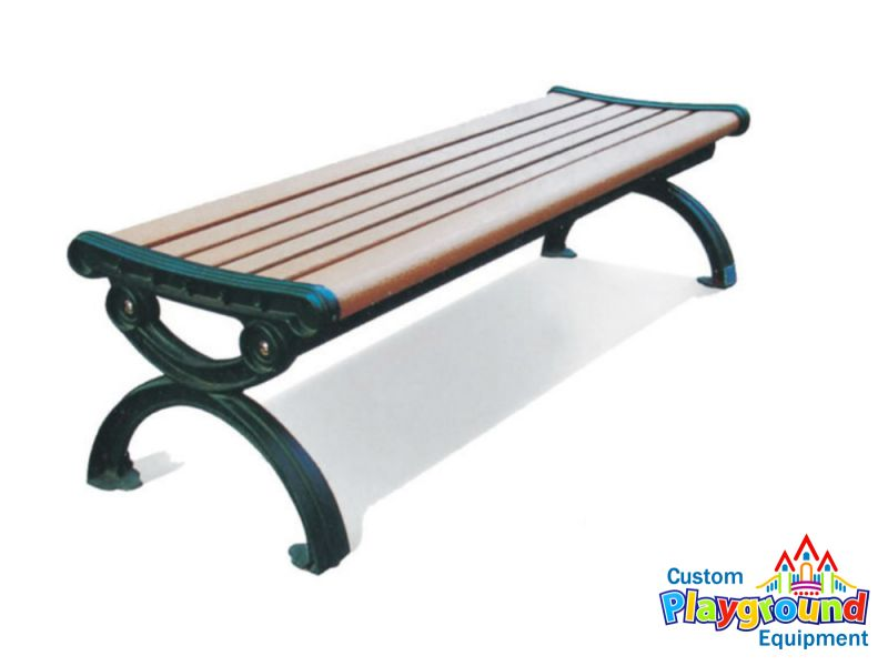 Brilliant 6Ft Queen Anne Wood Composite Backless Bench By Customplaygroundequipment Com Beatyapartments Chair Design Images Beatyapartmentscom