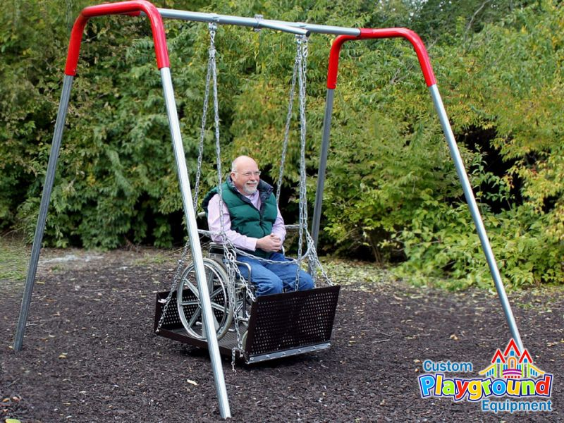wheelchair swing platform 2