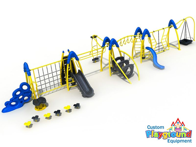 commercial playground no playdeck system - Commercial Playground Equipment