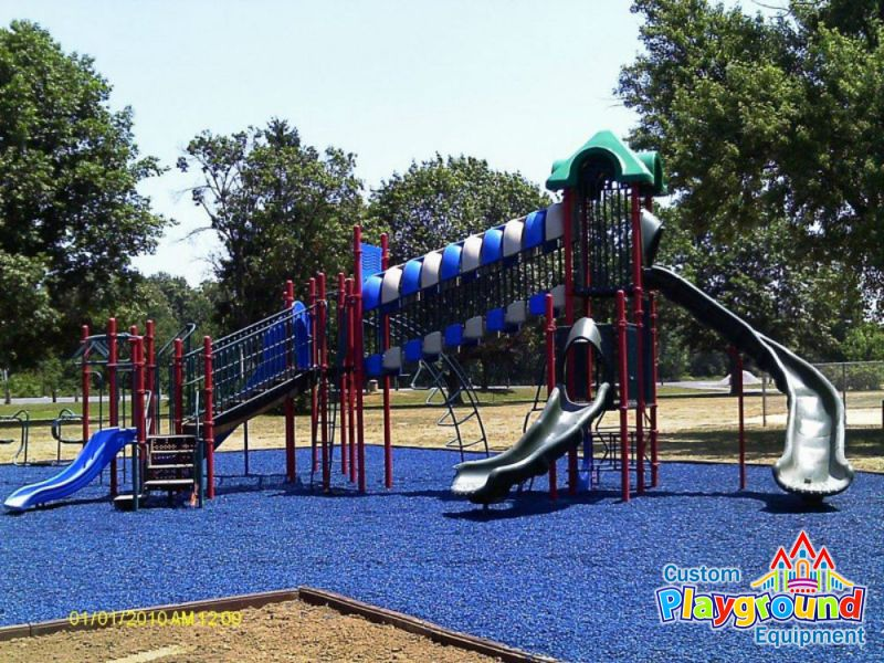 Astm Certified Rubber Mulch Playground