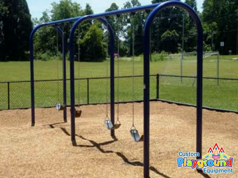 Arch Belt Swing Set For Commercial Playgrounds