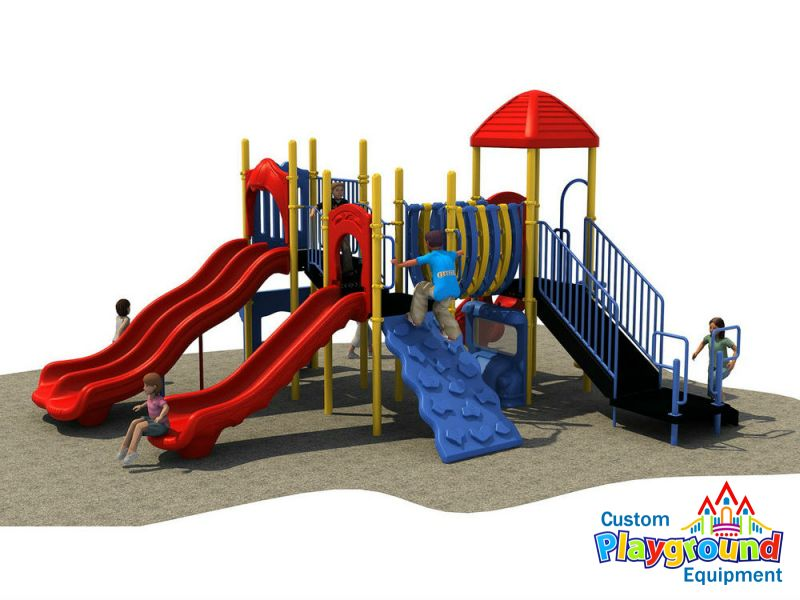 Playset Designed With Toddlers In Mind