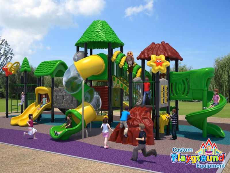 Nature themed set for parks schools and zoos for Jungle themed playroom