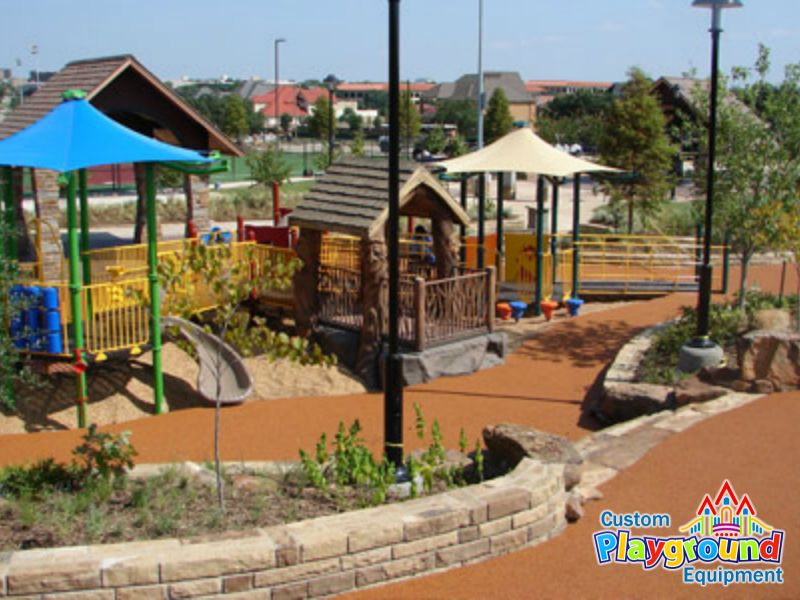 Poured playground surfaces submited images - Playground surfaces for home ...