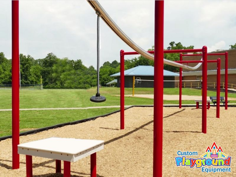 Playgrounds and obesity