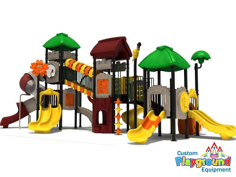 towering tree house - Commercial Playground Equipment