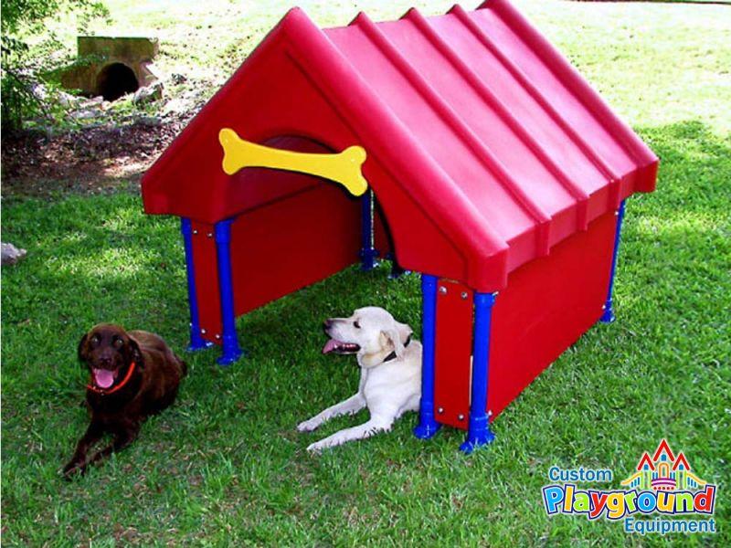 Park Walk Thru Dog House